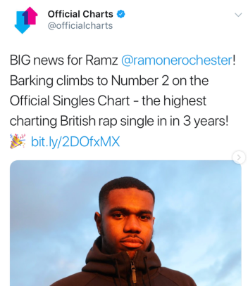 Ramz breaking records!