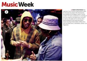 Music Week Coverage of Future's London Launch Event