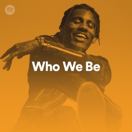 Wretch 32 on the cover of Spotify's Who We Be Playlist